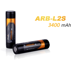 Accumulateurs 18650 Fenix ARB-L2/L2S