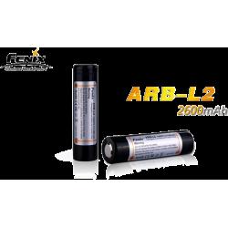 Accumulateurs 18650 Fenix ARB-L2/L2S