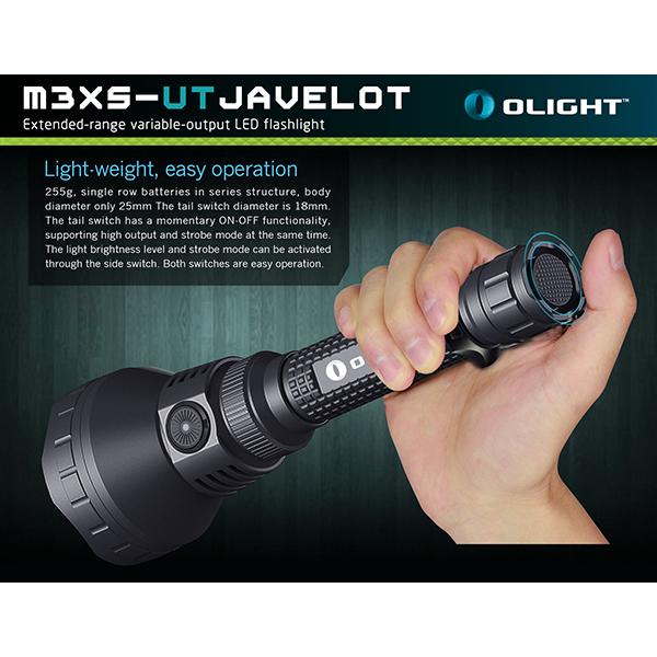 MXSUT Javelot Lm Longue Portée - Lampe torche puissante longue portée
