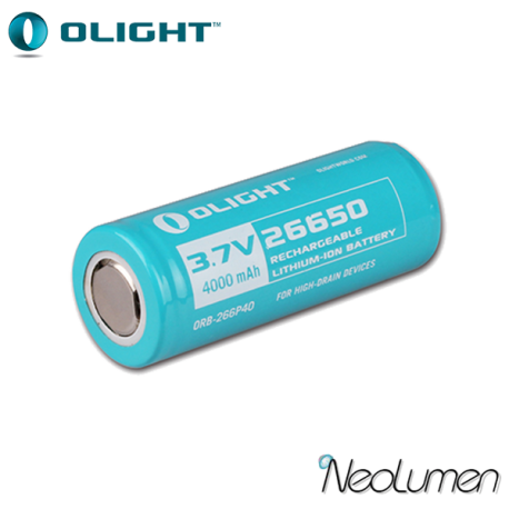Accumulateur 26650 Olight 4000 mAh