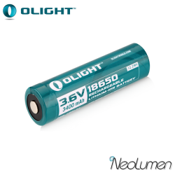 Olight 18650 Rechargeable Lithium-Ion Batteries ORB-18L34