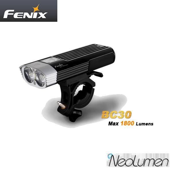BC30 1800 lumens Fenix Bike Light