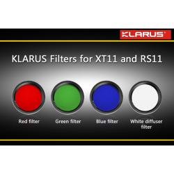 Filtres XT11/RS11 Klarus
