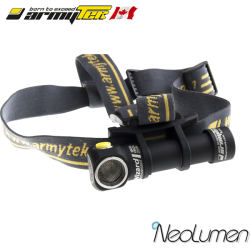 Armytek Wizard Silver Warm V3 Headlamp