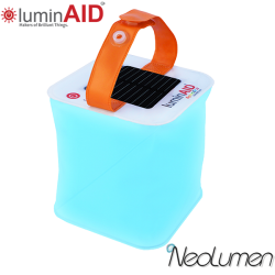 PackLite Spectra Color Inflatable Solar Lantern by LuminAID