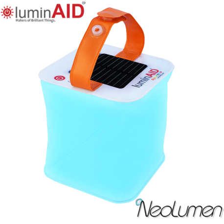 LuminAID Spectra Lanterne multicouleur solaire gonflable