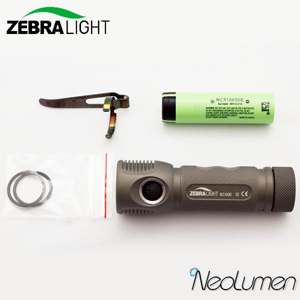 ZebraLight-SC600 MK III XHP35 Cool white - Neolumen