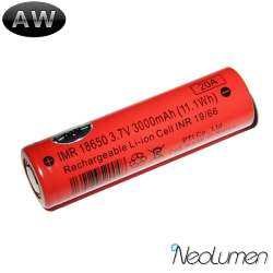 Accumulateurs IMR18650 3000mAh AW