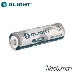Olight CR123A 1500mAh battery
