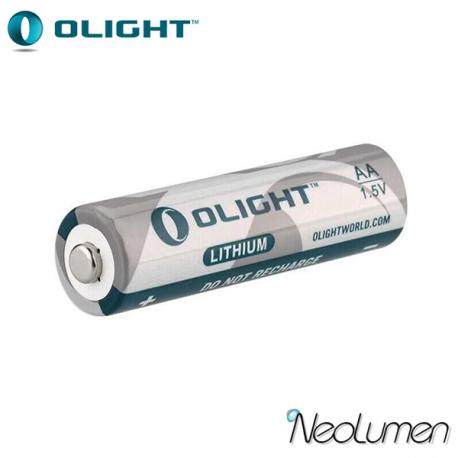 Olight Pile AA 1,5 V Lithium Fer Disulfide (Li-FeS2)