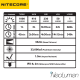 Nitecore MH20 1000 lumens rechargeable