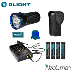 Kit Olight X7 + 4 accus + Chargeur