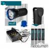 Olight X7 MARAUDER Kit (4 accus + Chargeur) - 9000 lumens