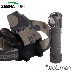 ZebraLight H603w XHP35 frontale 18650 blanc neutre Flood