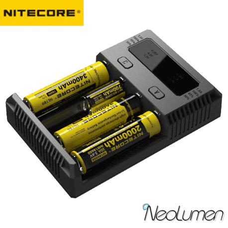 Nitecore NEW I4 Chargeur universel 4 baies