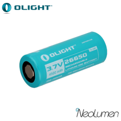 Accumulateur Li-Ion 26650 Olight 4500 mAh