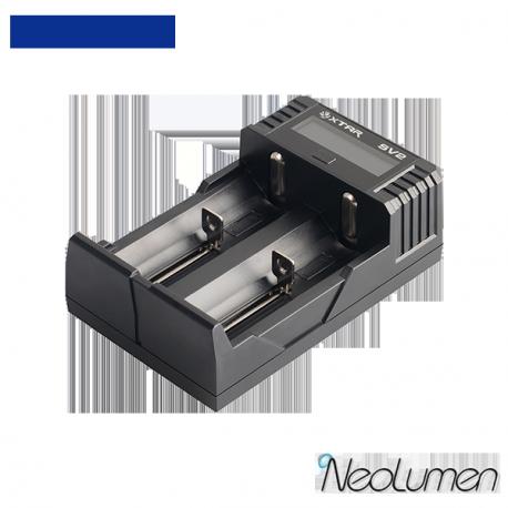 Xtar Rocket SV2 Chargeur Rapide 2 baies