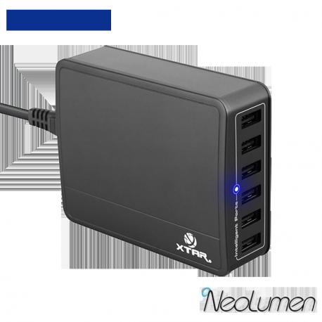 Xtar SIX-U U1 45 W chargeur 6 ports USB
