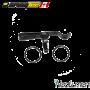 Armytek Clip ceinture noir pour frontale Wizard + 2 joints toriques