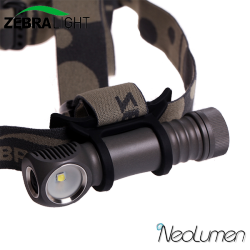 ZebraLight H603 XHP35 frontale 18650 blanc froid Flood