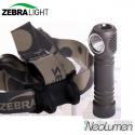 ZebraLight H600w Mk3 XHP35 frontale 18650 blanc neutre