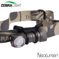 ZebraLight H32Fw frontale CR123 blanc neutre Flood