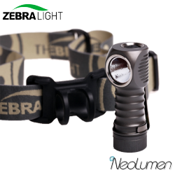 ZebraLight H32 frontale CR123 blanc froid
