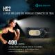 Olight HS2 Frontale de Trail double faisceau Rechargeable 400 lumens