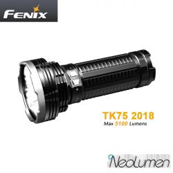 Fenix TK75 2018 5100 lumens 850m de portée
