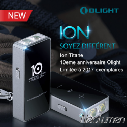Olight ION 10th Anniversary Edition LED Flashlight