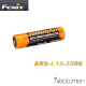 Accumulateurs 18650 Fenix ARB-L18- 3500 mAh