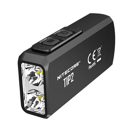 Nitecore TIP2 noire - Lampe porte-clés rechargeable 720 lumens