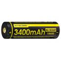 Accu Li-ion 18650 - 3400mAh - port USB