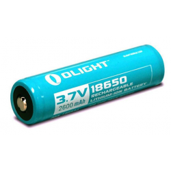 Accumulateur Olight 18650 2600mAh