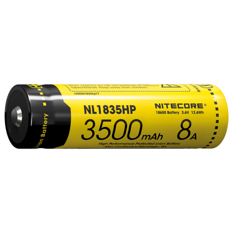 Accumulateur 18650 - 3500mAh - Décharge rapide