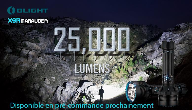 Olight X9R 25 000 lumens