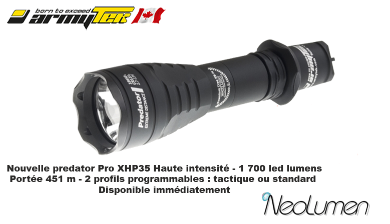 Armytek new product