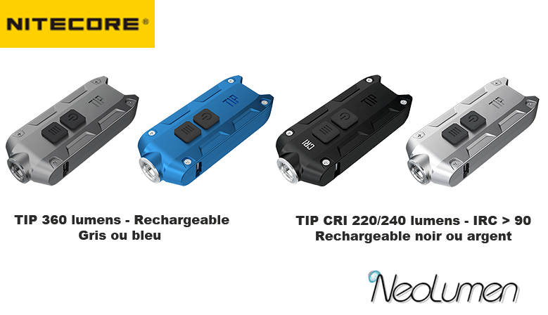 Nitecore TIP Rechargeable Keychain