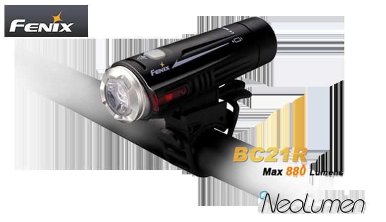 Fenix BC21R Rechargeable Bike Light