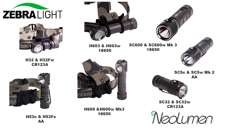 Zebralight catalog