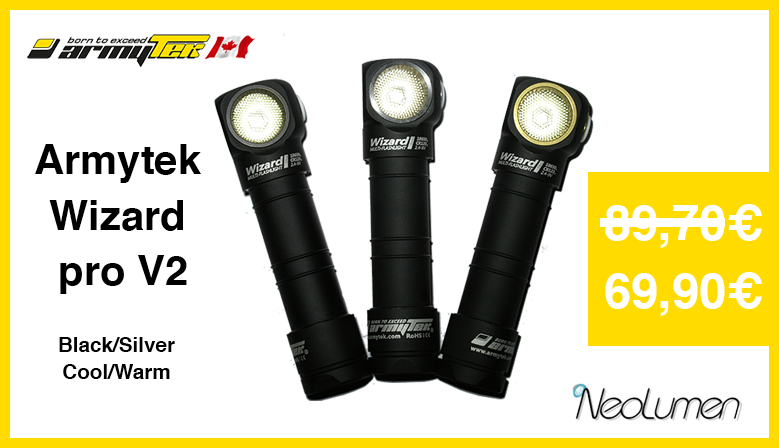 Sales Summer 2016 Armytek