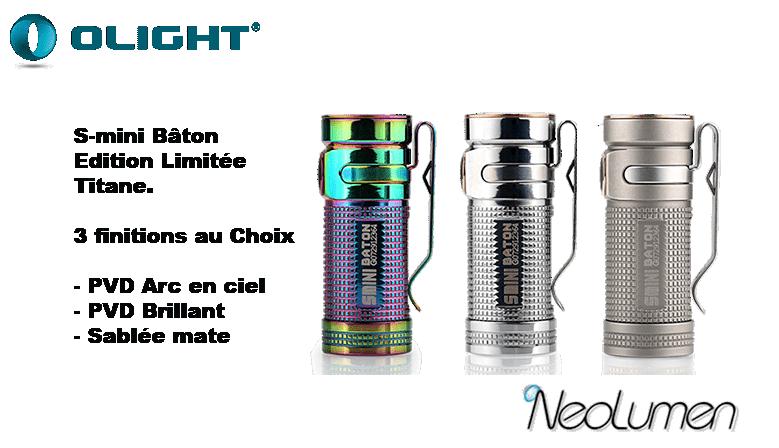 Olight Smini titane Edition Limitée