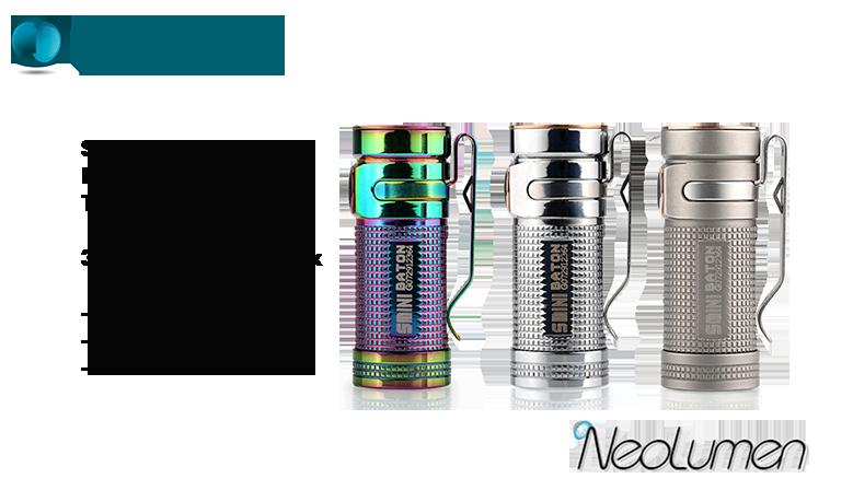 Olight Smini Titanium Limited Edition