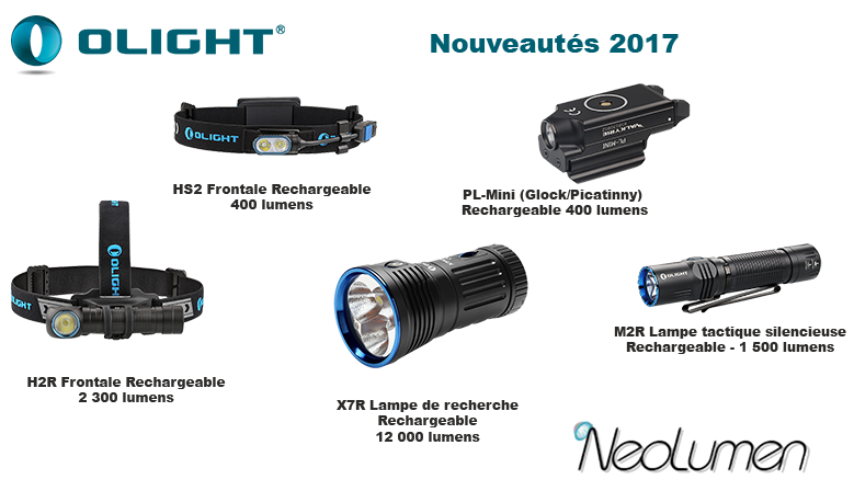 Available Olight new products